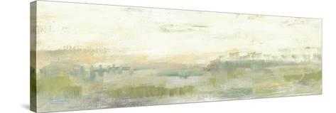 Greenery Horizon Line I-Jennifer Goldberger-Stretched Canvas Print