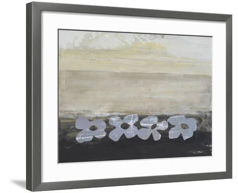 Stenciled Posies V-Natalie Avondet-Framed Art Print