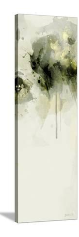 Misty Abstract Morning II-Green Lili-Stretched Canvas Print