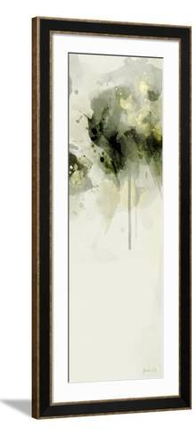 Misty Abstract Morning II-Green Lili-Framed Art Print