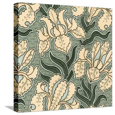 Nouveau Textile Motif II-Vision Studio-Stretched Canvas Print