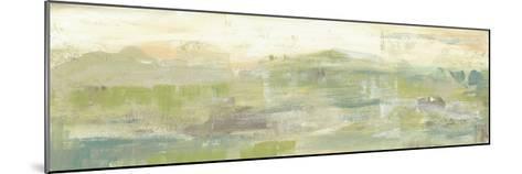 Greenery Horizon Line III-Jennifer Goldberger-Mounted Art Print