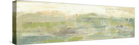 Greenery Horizon Line III-Jennifer Goldberger-Stretched Canvas Print