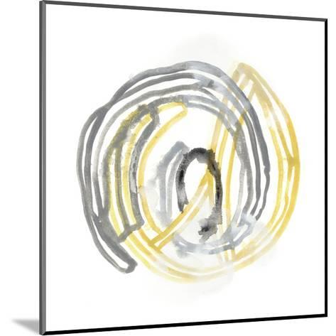 String Orbit III-June Vess-Mounted Art Print