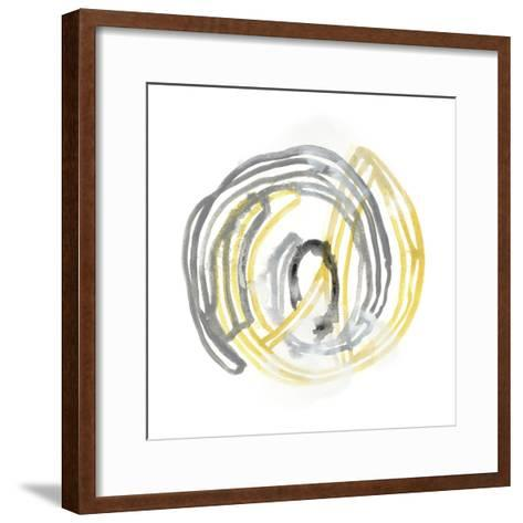 String Orbit III-June Vess-Framed Art Print