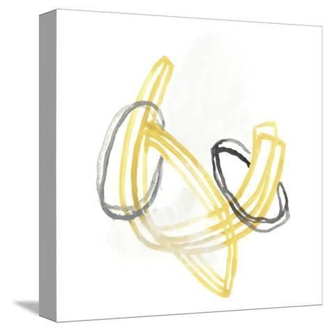 String Orbit V-June Vess-Stretched Canvas Print