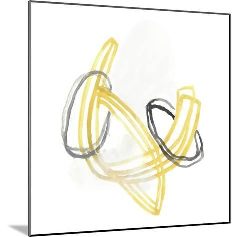 String Orbit V-June Vess-Mounted Art Print