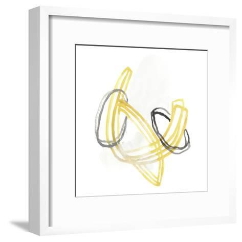 String Orbit V-June Vess-Framed Art Print