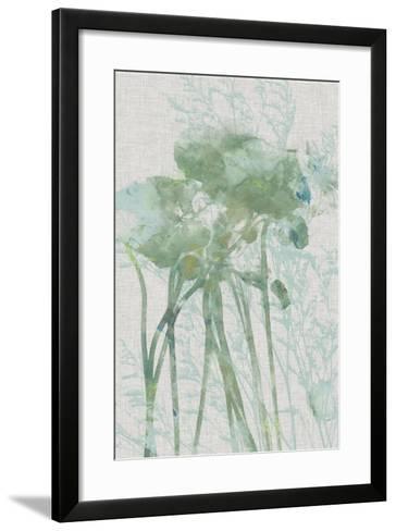 Watercolor Flower Panel I-Jennifer Goldberger-Framed Art Print