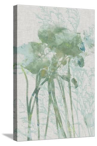 Watercolor Flower Panel I-Jennifer Goldberger-Stretched Canvas Print