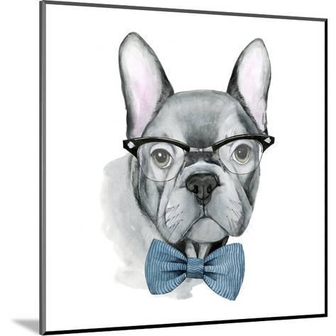 Vintage Pup IV-Grace Popp-Mounted Art Print