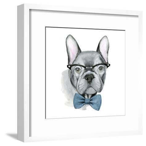 Vintage Pup IV-Grace Popp-Framed Art Print