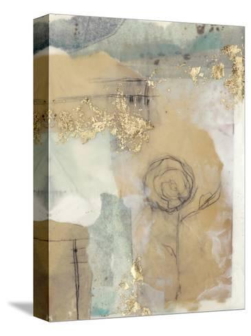 Posy Collage I-Jennifer Goldberger-Stretched Canvas Print