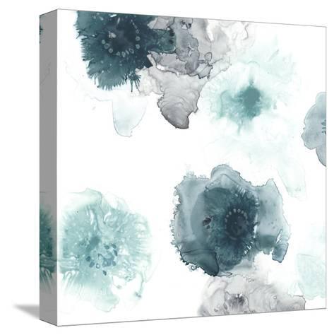 Floating Indigo IV-June Vess-Stretched Canvas Print