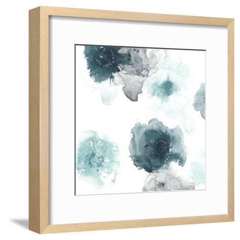 Floating Indigo IV-June Vess-Framed Art Print