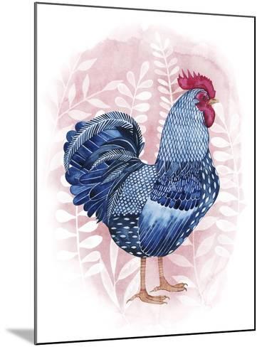 Lyrical Crow I-Grace Popp-Mounted Art Print