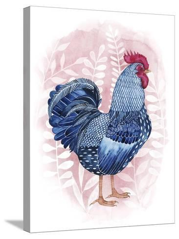 Lyrical Crow I-Grace Popp-Stretched Canvas Print