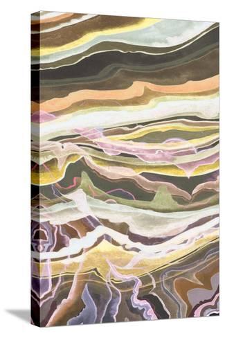 Warm Minerals I-Grace Popp-Stretched Canvas Print