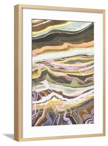 Warm Minerals I-Grace Popp-Framed Art Print
