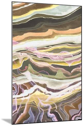 Warm Minerals I-Grace Popp-Mounted Art Print