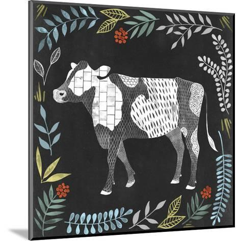 Chalkboard Farmhouse I-Grace Popp-Mounted Art Print