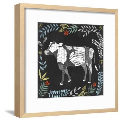 Chalkboard Farmhouse I-Grace Popp-Framed Art Print