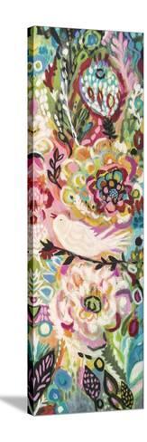 Soulful Birds II-Karen  Fields-Stretched Canvas Print
