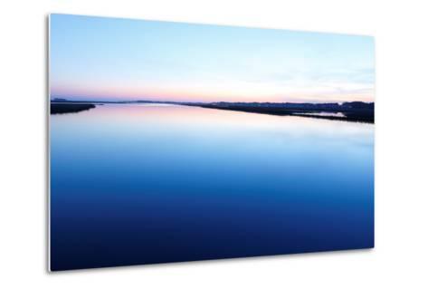 Chincoteague National Wildlife Refuge after Sunset, Virginia, Usa.-Jay Yuan-Metal Print