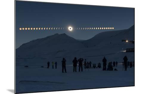 Solar Eclipse Sequence in Svalbard on March 20, 2015-THANAKRIT SANTIKUNAPORN-Mounted Photographic Print