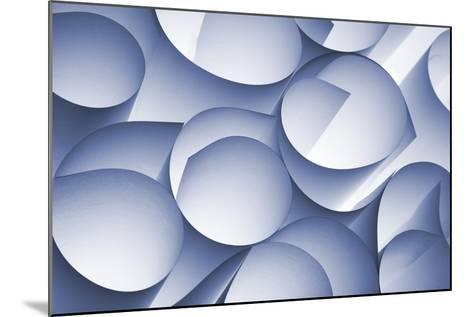 Curly Paper Abstract-Daniel M Nagy-Mounted Photographic Print
