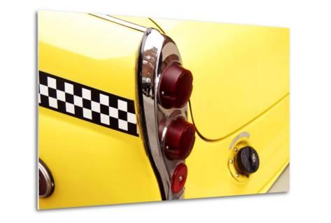 Checkered Cab-Jonathan Feinstein-Metal Print