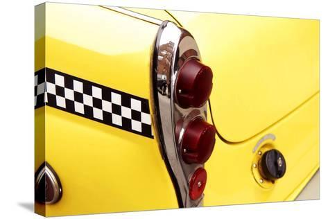 Checkered Cab-Jonathan Feinstein-Stretched Canvas Print