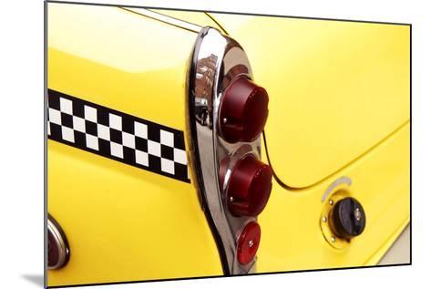 Checkered Cab-Jonathan Feinstein-Mounted Photographic Print