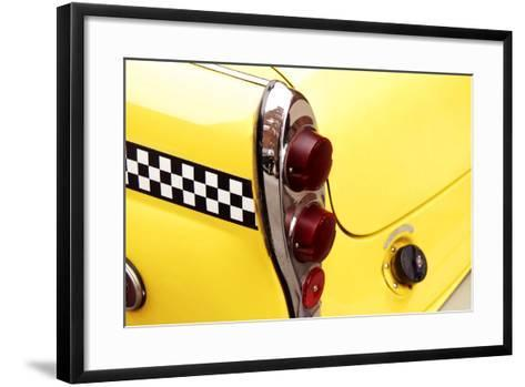 Checkered Cab-Jonathan Feinstein-Framed Art Print