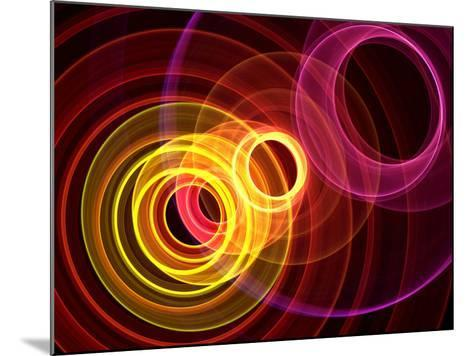 Colorful Abstract Background- oriontrail-Mounted Photographic Print