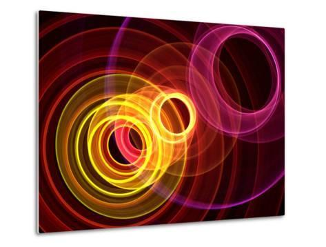 Colorful Abstract Background- oriontrail-Metal Print
