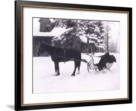 Winter Wonderland-Everett Collection-Framed Art Print