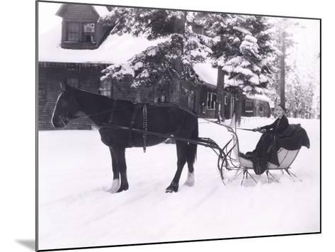 Winter Wonderland-Everett Collection-Mounted Photographic Print