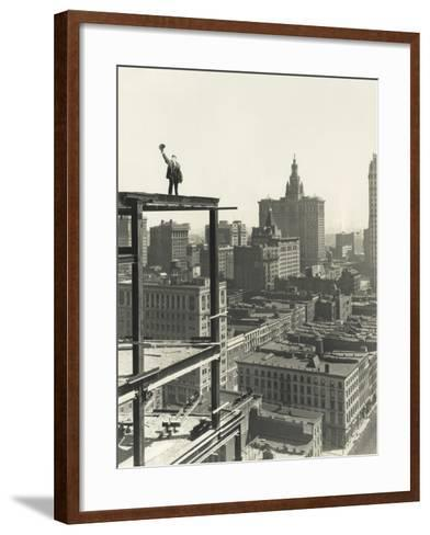 On Top of the World-Everett Collection-Framed Art Print