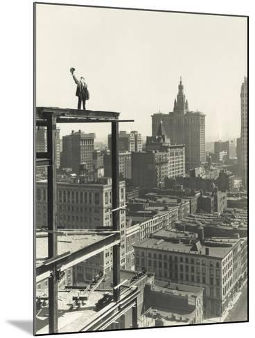 On Top of the World-Everett Collection-Mounted Photographic Print