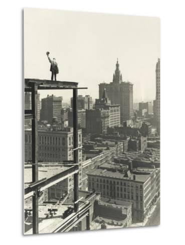 On Top of the World-Everett Collection-Metal Print