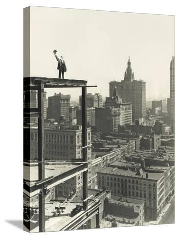 On Top of the World-Everett Collection-Stretched Canvas Print