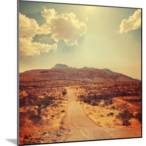 Namibian Landscape-Galyna Andrushko-Mounted Photographic Print