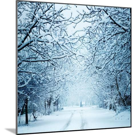 Winter Landscape-Triff-Mounted Photographic Print