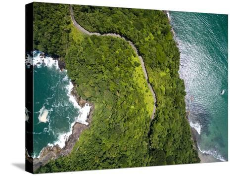 Top View of Exotic Hill in Brazil-Filipe Frazao-Stretched Canvas Print