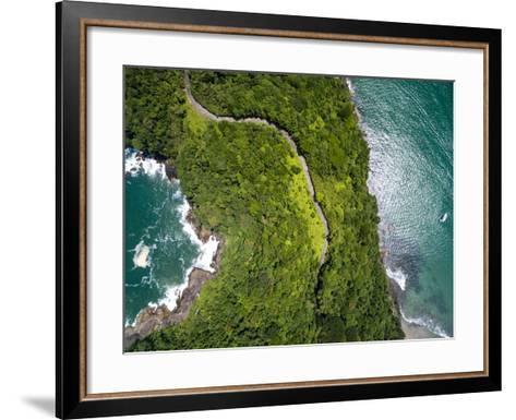 Top View of Exotic Hill in Brazil-Filipe Frazao-Framed Art Print