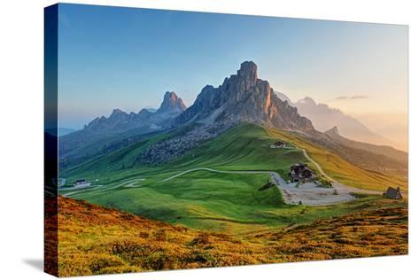 Dolomites Landscape-TTstudio-Stretched Canvas Print