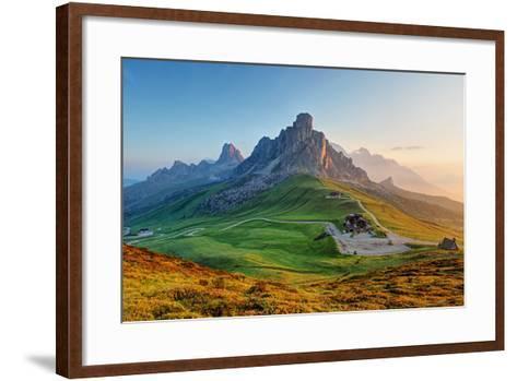 Dolomites Landscape-TTstudio-Framed Art Print