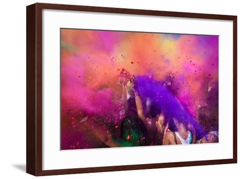 Color Festival-Adam Filipowicz-Framed Art Print