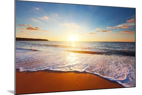 Sunset and Sea-Ozerov Alexander-Mounted Photographic Print